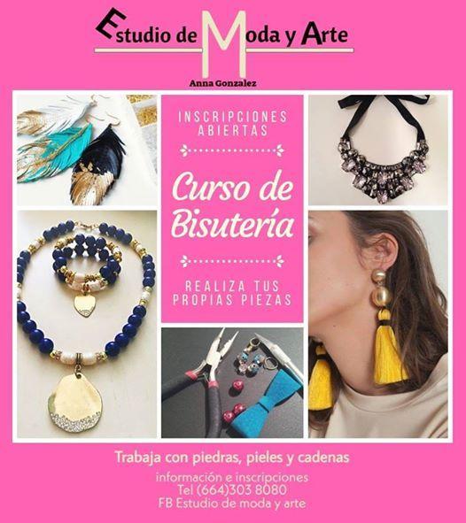 acc36a3f612f Curso De Bisutería at Estudio De Moda Y Arte