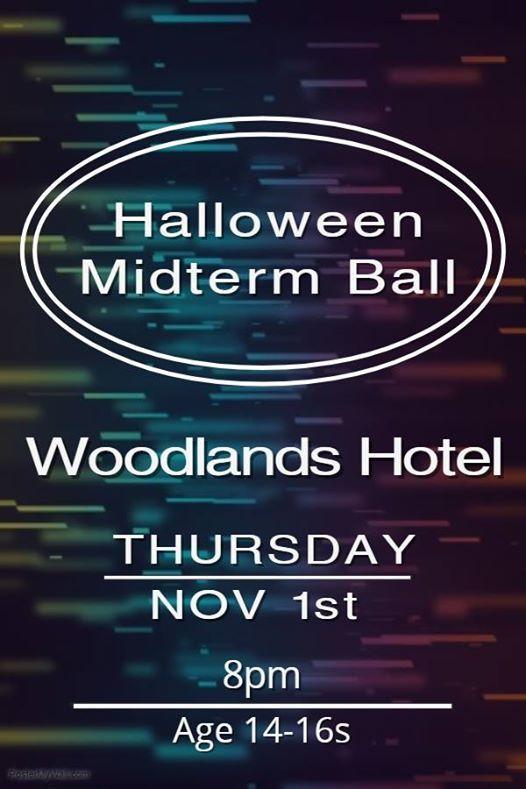 Halloween Midterm Ball - Woodlands