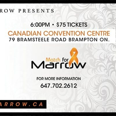 Match For Marrow Presents The GIFT OF LIFE GALA 79 Bramsteele Rd