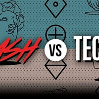 Trash vs Techno The Spring Edition at six dogs