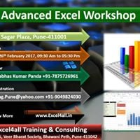 Advanced Excel training on weekends for Professionals