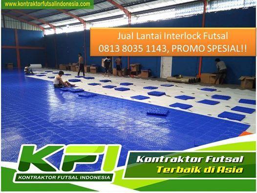 Pabrik Interlock Futsal Semarang Call  0813 8035 1143