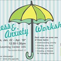 Stress &amp Anxiety Management Workshop