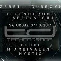 Technodrome label night at Lazareti