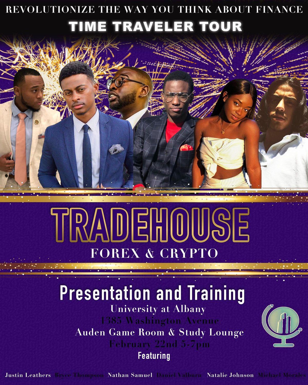 UAlbany Tradehouse Forex & Crypto Tour