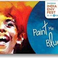 Paint me BLUE - Artful Sunday