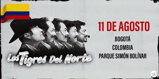 Los Tigres Del Norte En Bogot-Evento Gratuito