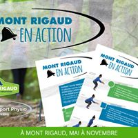 Inauguration du sentier Mont Rigaud en Action
