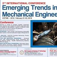 International Conference on Emerging Trends in ME