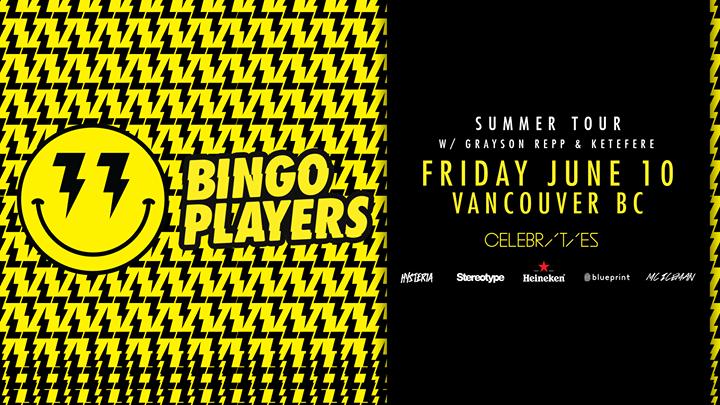 Tomorrow bingo players stereotypefridays celebrities pres event details malvernweather Image collections