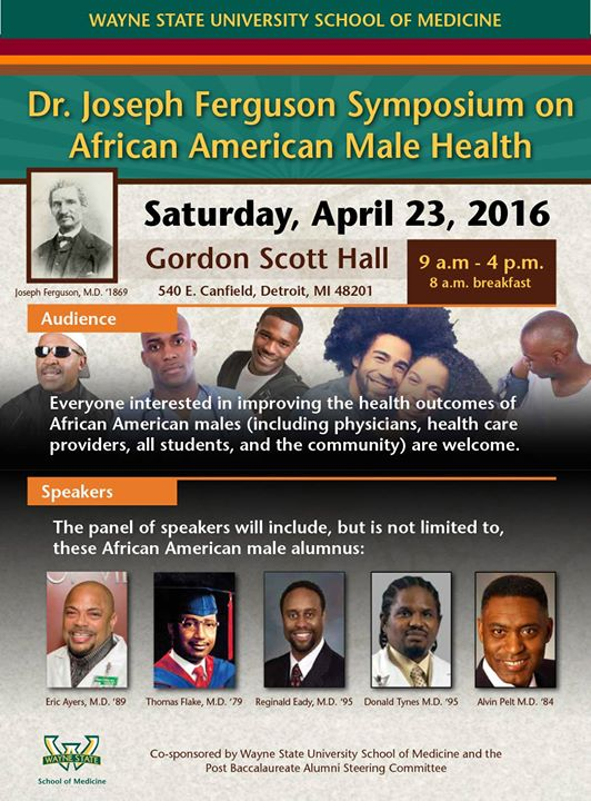 Dr  Joseph Ferguson Symposium on African American Male