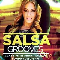 Salsa Grooves Class With Shani Talmor July 23
