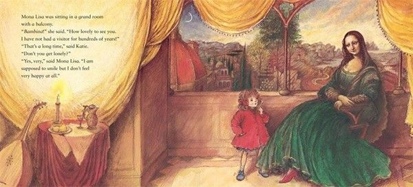 Kids Book Club Katie and Mona Lisa by James Mayhew