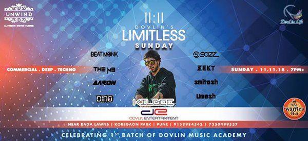 1111 Limitless Sunday at Unwind