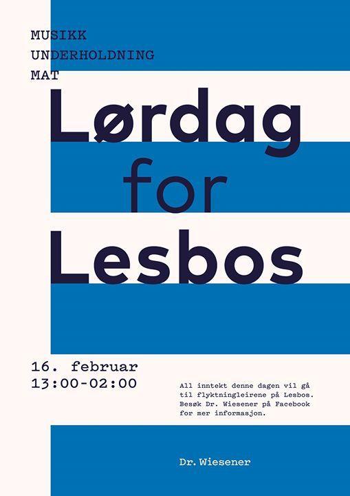 Lrdag for Lesbos
