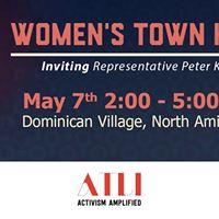 NY02 DemsNOWATLI Womens Town Hall Inviting Rep. Peter King