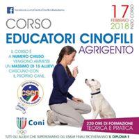 Corso educatori cinofili Agrigento