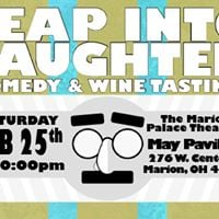 Leap Into Laughter Comedy &amp Wine Tasting