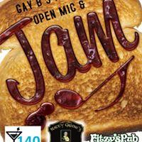 Gay Bs Open Mic &amp Jam with STEVE Poirier