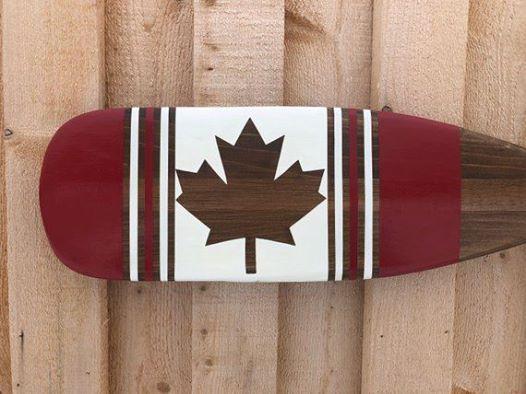 Canadian Flag Paddle Workshop
