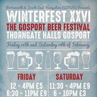 Winterfest Gosport Beer Festival
