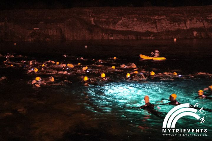 Firework 500 Open Water Swim at Capernwray Diving & Leisure