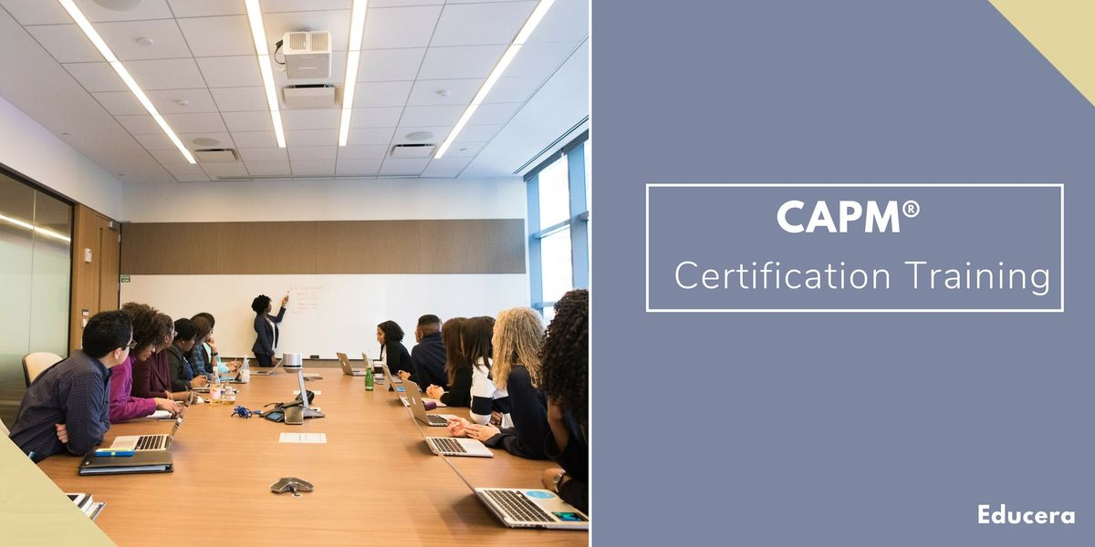CAPM Certification Training in Burlington VT