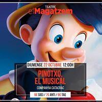 Pinotxo el Musical al Teatre el Magatzem