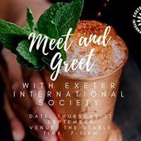 IntSoc Meet and Greet