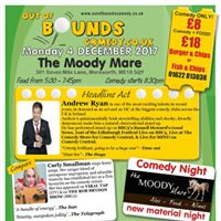 Out of Bounds Comedy at The Moody Mare with Andrew Ryan