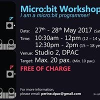 FREE_Microbit Workshop For Youth by DPAC &amp ICOSA Tech