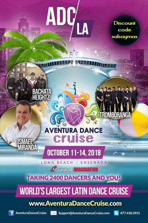 Aventura Dance Cruise L A 2018 Discount Code Salsaymas At