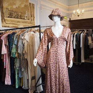 Frock Me Vintage fair at Chelsea Town Hall November 2018