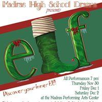 MHS Drama Presents ELF The Play