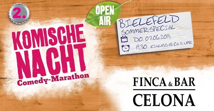 Finca Bielefeld 2 komische nacht sommer special open air bielefeld at finca bar