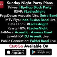 ClubGo Sunday Night Party Plans  91-9999030363