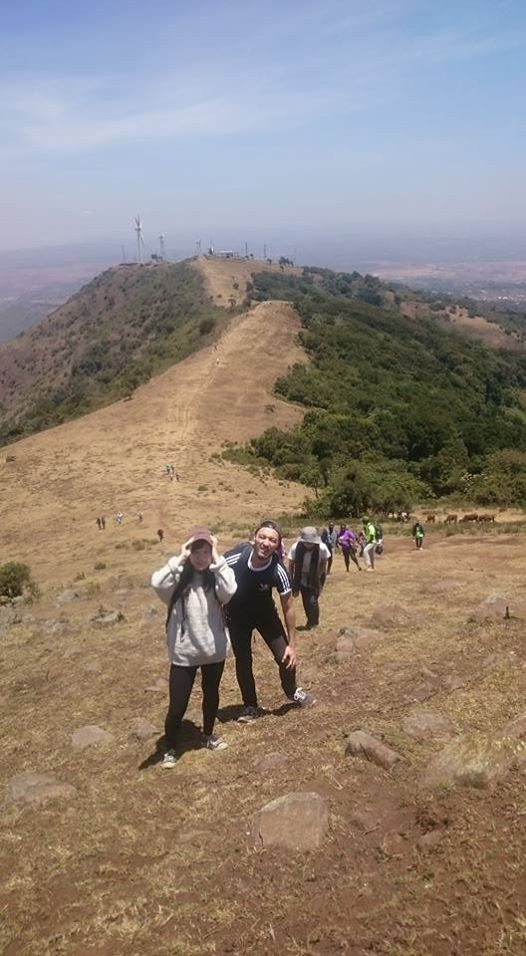 Ngong Hill Hiking Swimming  And Nyama Choma