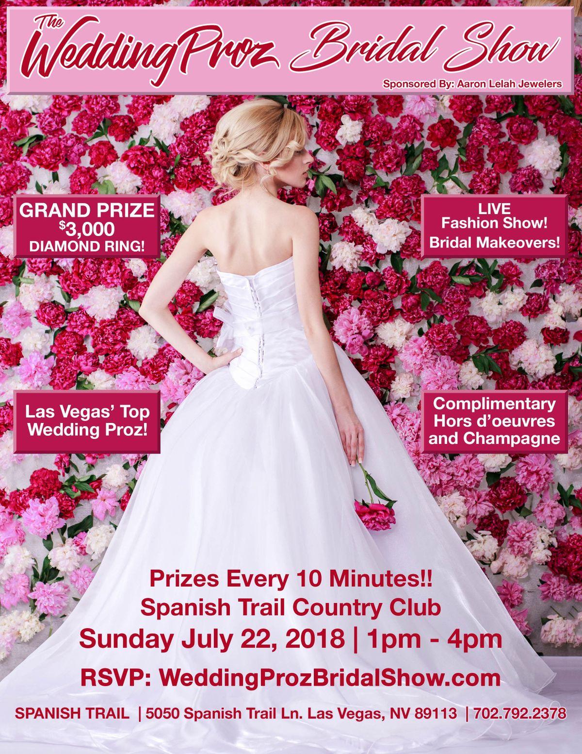 Wedding Proz Bridal Show at Spanish Trail Country Club, Las Vegas