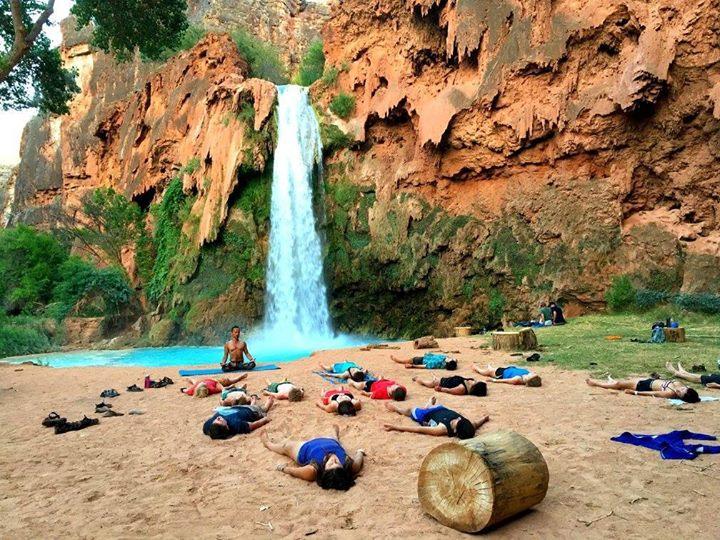 Havasupi Yoga Retreat 2018 At Havasu Falls Supai Az