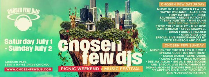 2017 Chosen Few Picnic & Music Festival