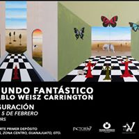 Inauguracin de la Exposicin El Mundo Fantstico De Pablo Weisz Carrington