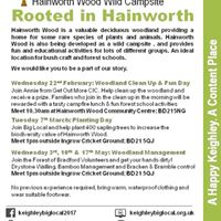 Woodland management with Forest of Bradford