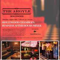 August Business After Hours at The Argyle