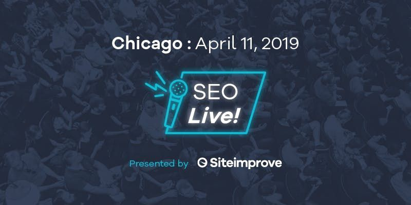 SEO Live  Presented by Siteimprove