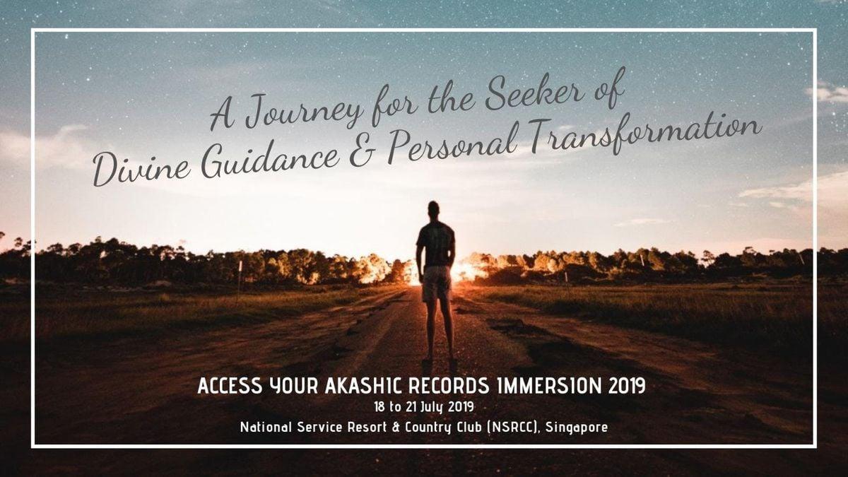 Akashic Records Immersion Singapore 2019