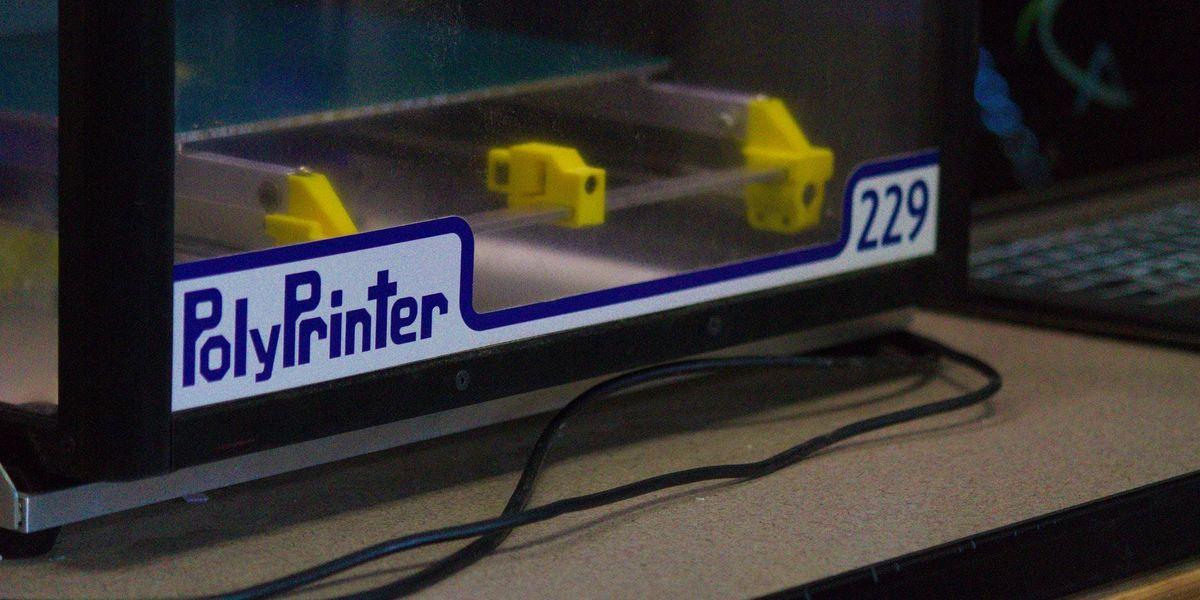 3D Printing on the PolyPrinter