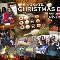 Spring Gate Christmas Bash Sat. &amp Sun. 12-10 PM