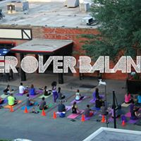 Beer Over Balance - Yoga at The Phoenix