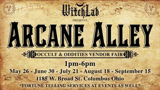 Arcane Alley at Witchlab, Ohio
