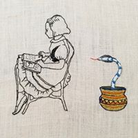 Contemporary Embroidery Workshop with Karla Capralli